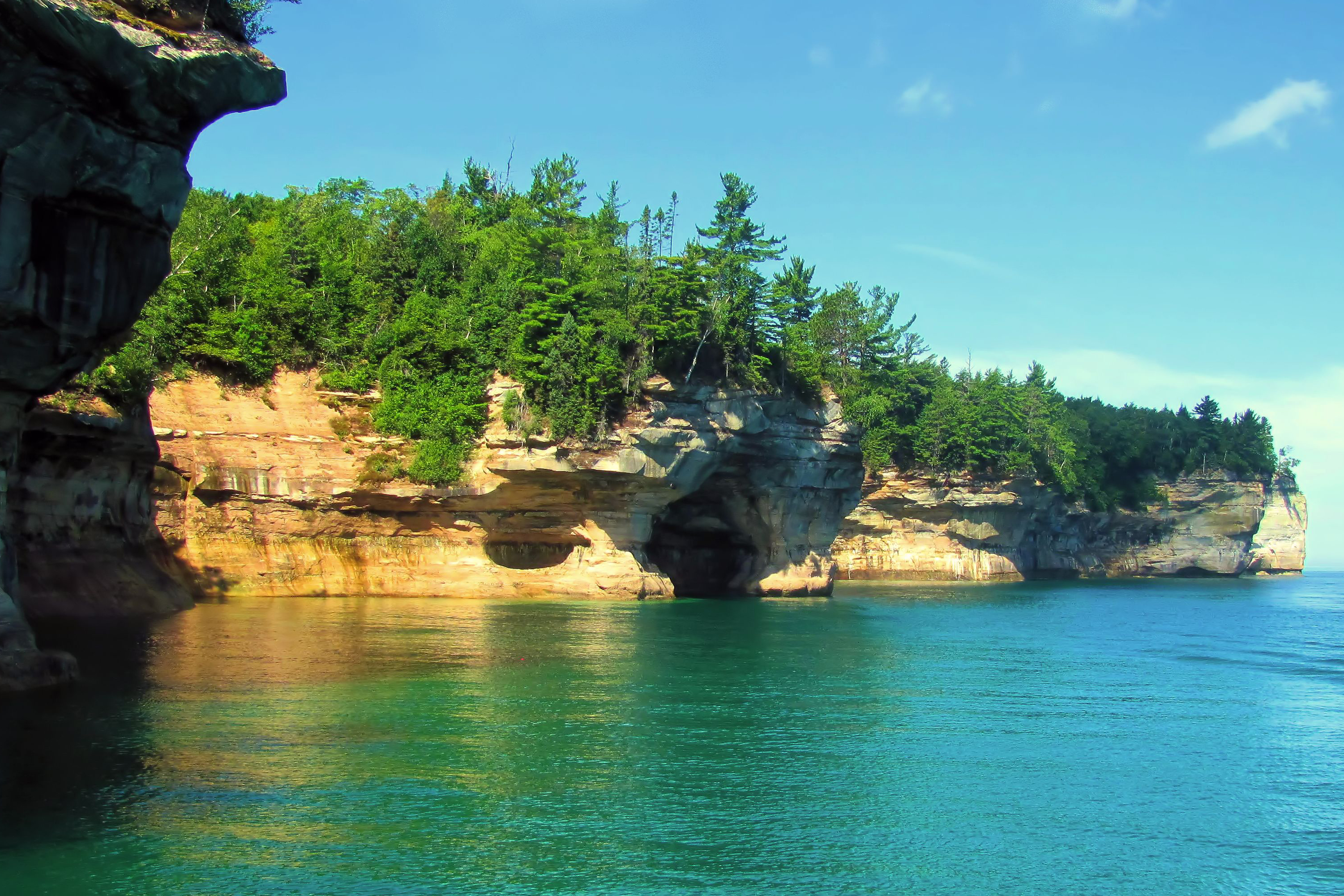 Pictured Rocks National Lakeshore Munising Tourist Park